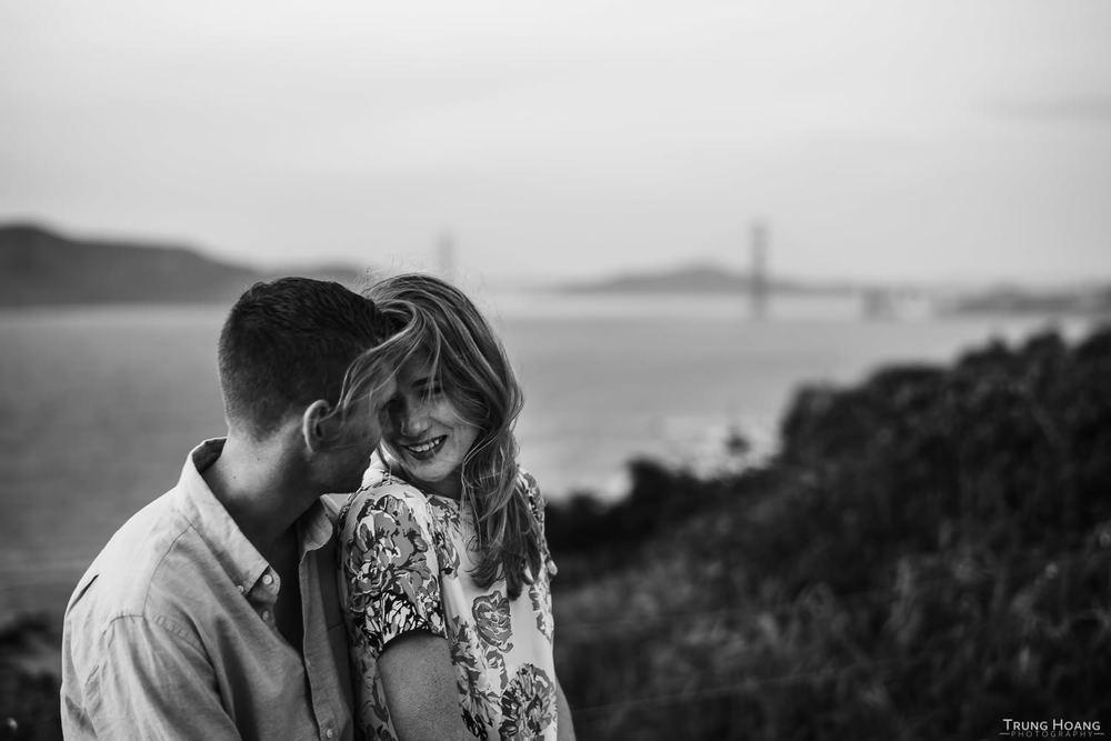 Golden Gate Bride Engagement Photos