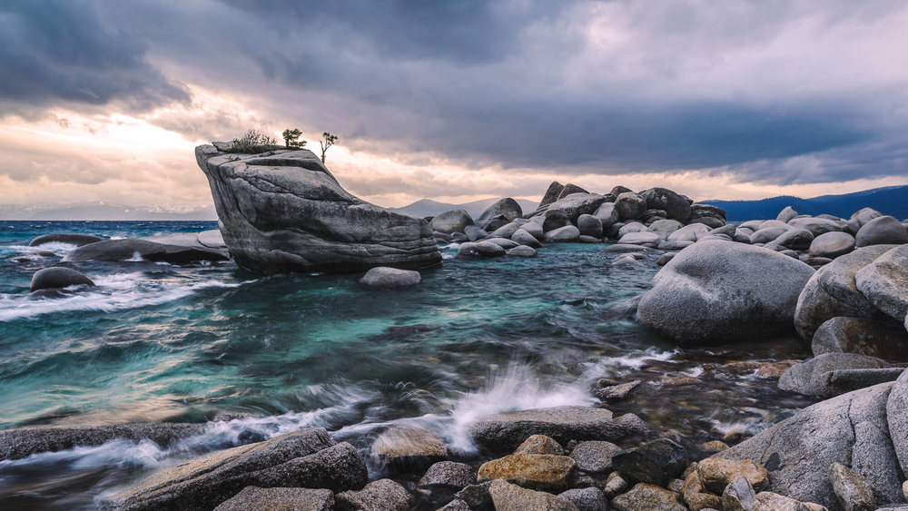 Turbulence at Bonsai Rock