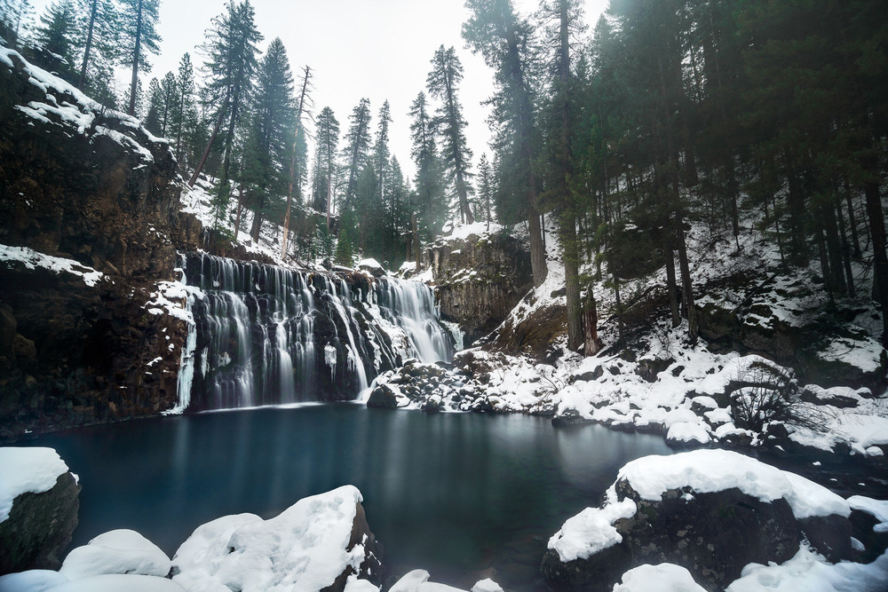 Winter at McCloud Falls