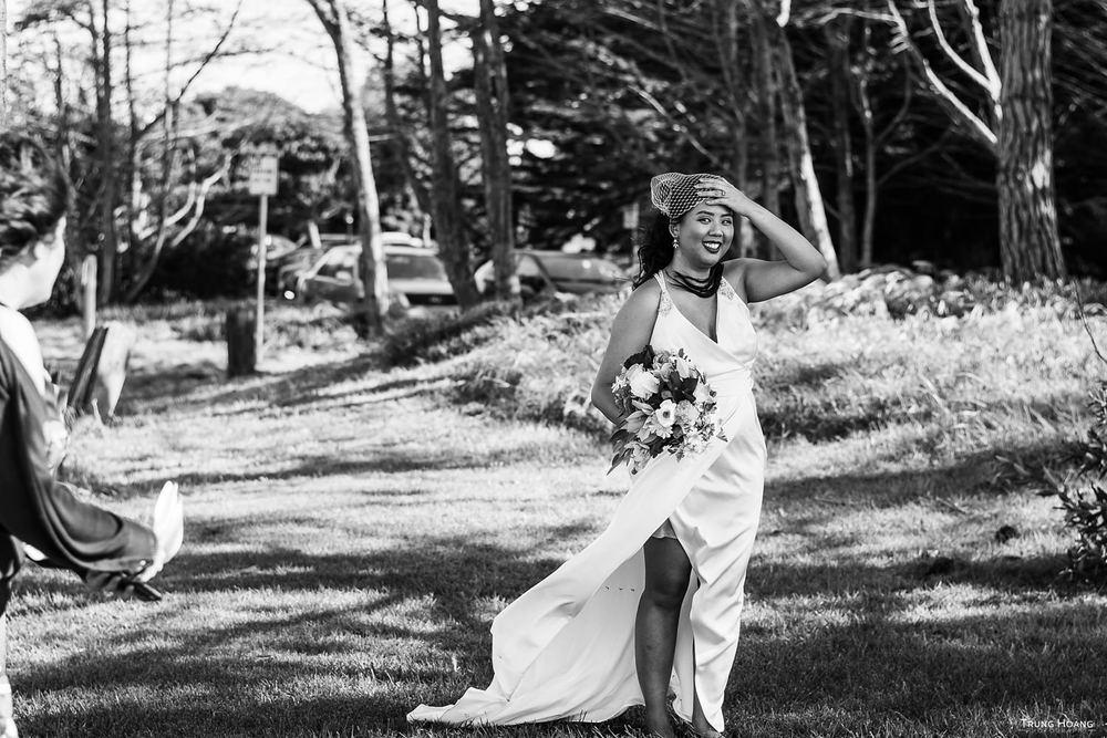 Genuine bride wedding photo San Francisco Photographer