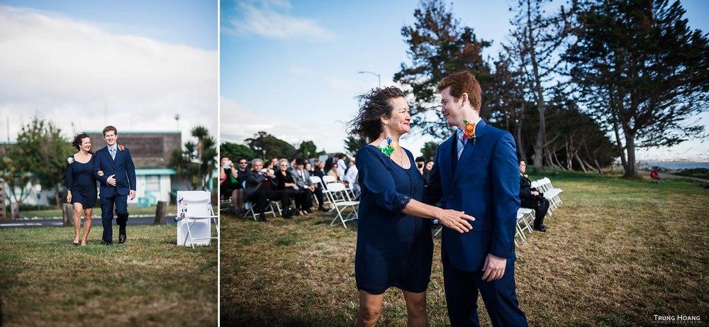 Wedding ceremony documentary style Wedding Photography Bay Area