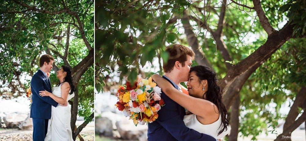 Outdoor wedding portrait Emeryville Photographer