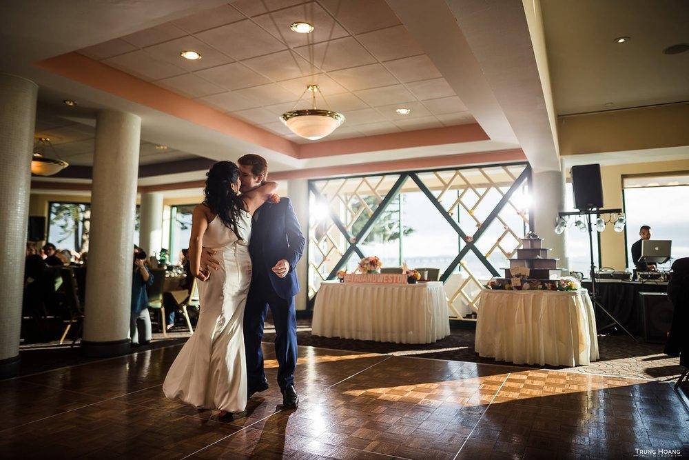 First Dance Banquet Dinner Wedding Photography