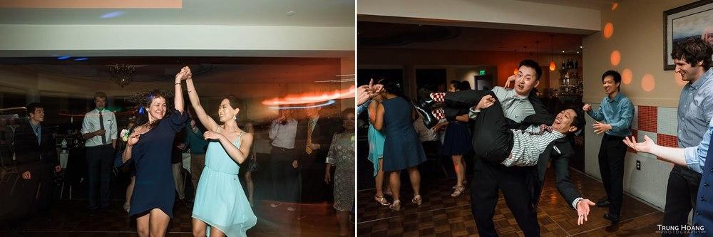Fun Wedding Reception Dance Photo