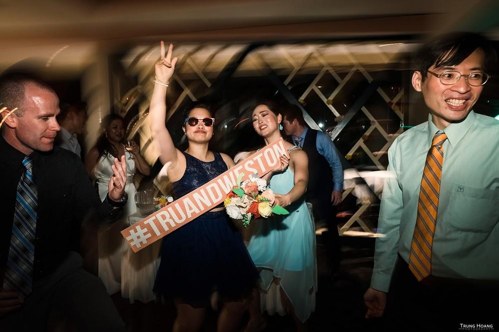 Exciting Wedding Reception Photographs