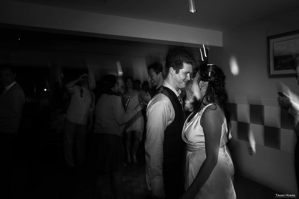 Bride and Groom Dance Floor Photo