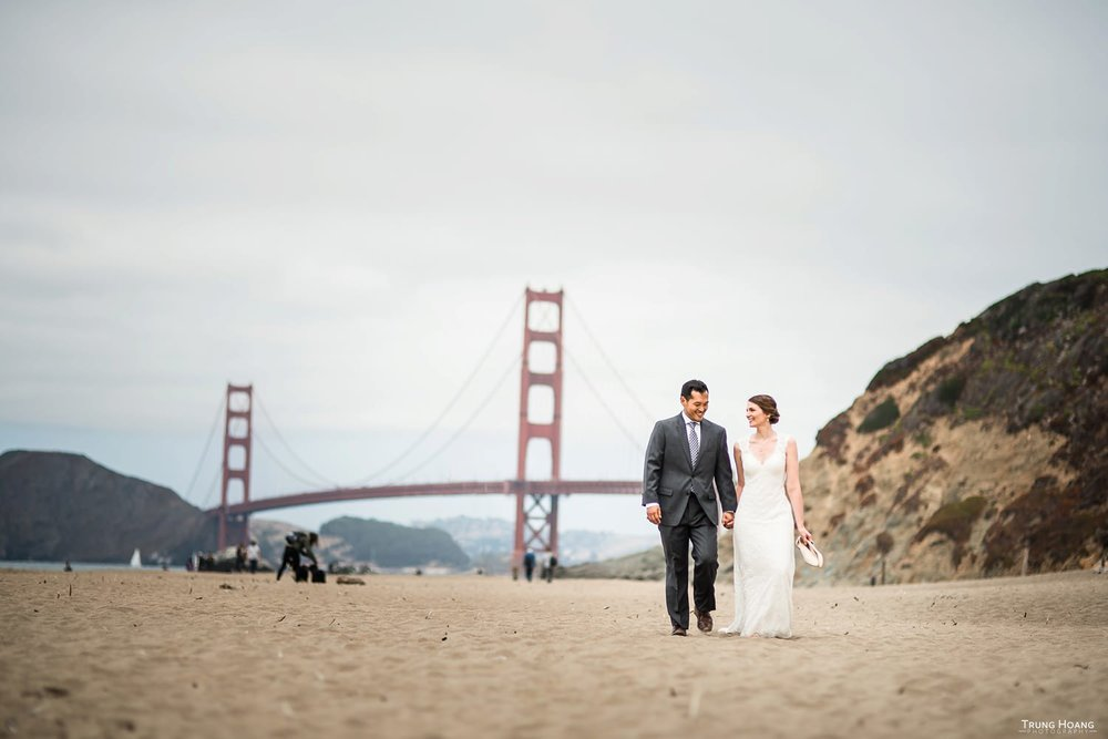 Baker Beach Wedding Photography
