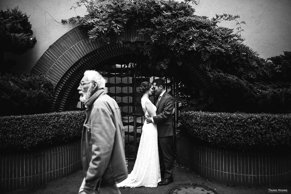 Golden Gate Park wedding photography