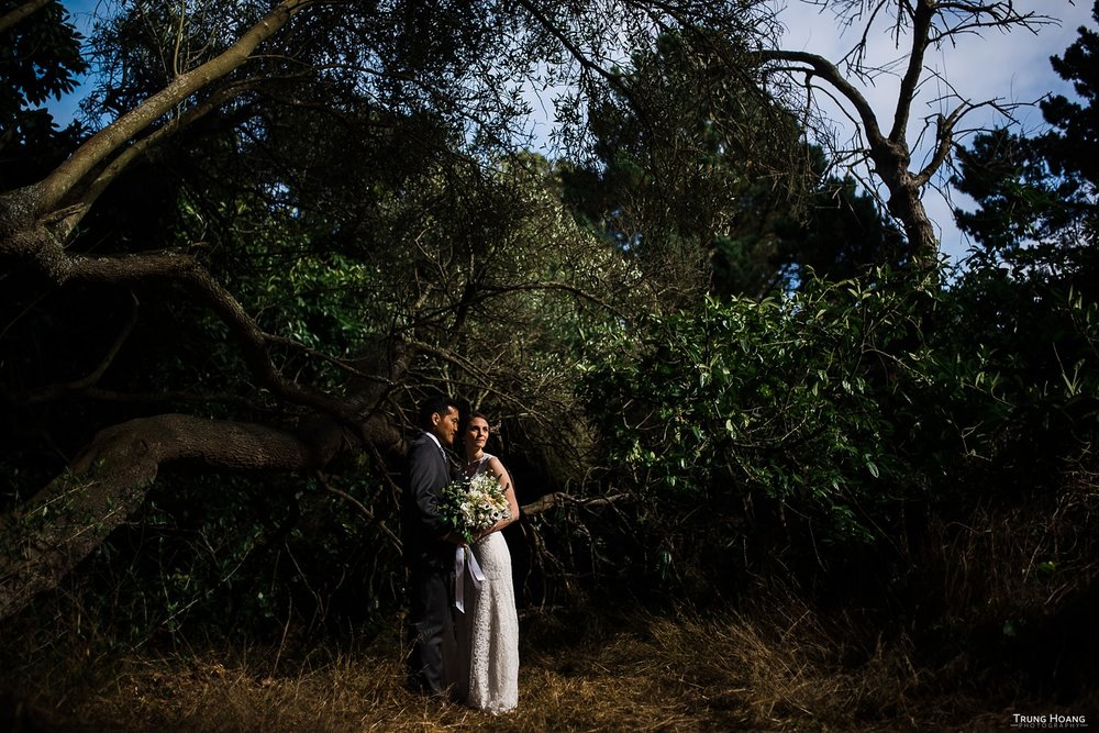Golden Gate Park Shakespeare Garden Wedding San Francisco Photographer