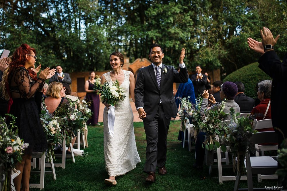 Shakespeare Garden San Francisco Wedding