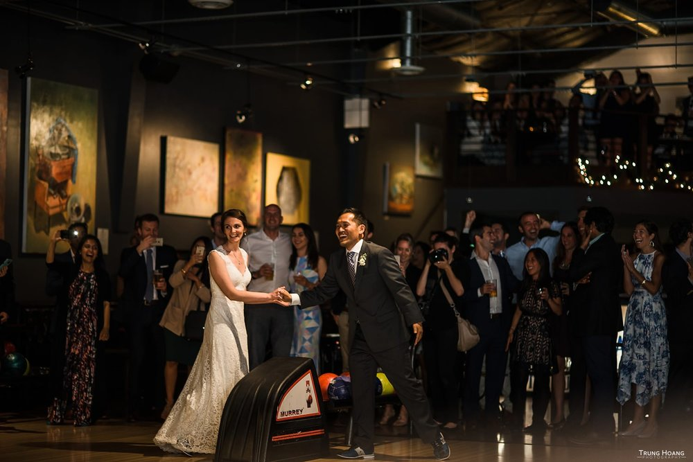 Mission Bowling Club Wedding