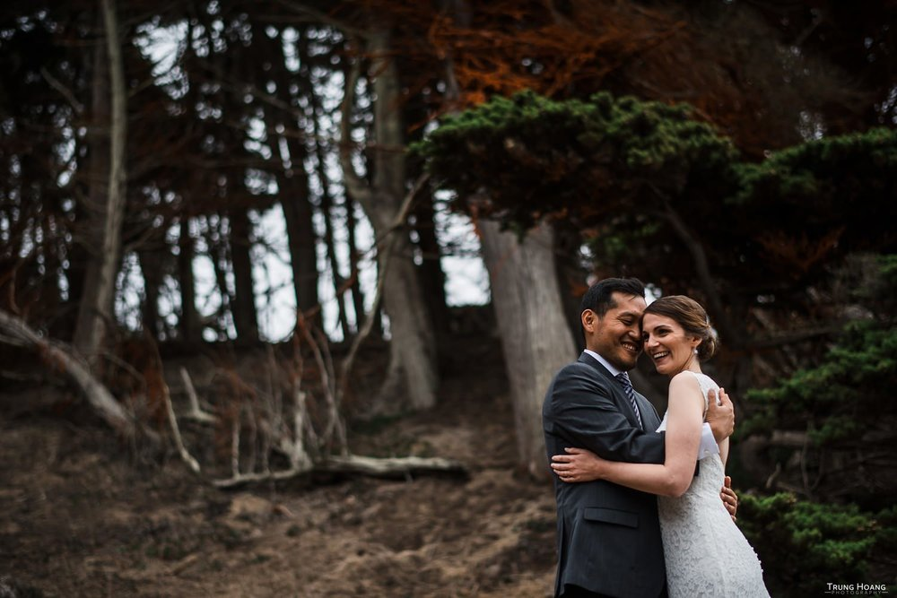 San Francisco Presidio Wedding Photos