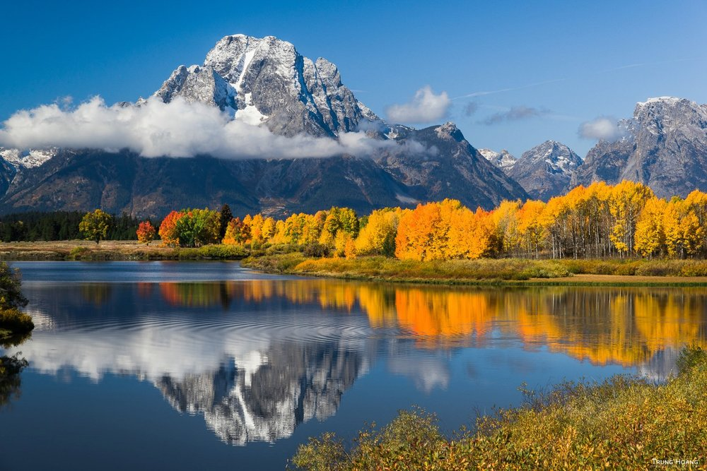 Autumn Colors at Oxbow Bend