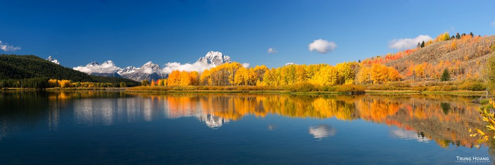Fall Colors at Oxbow Bend