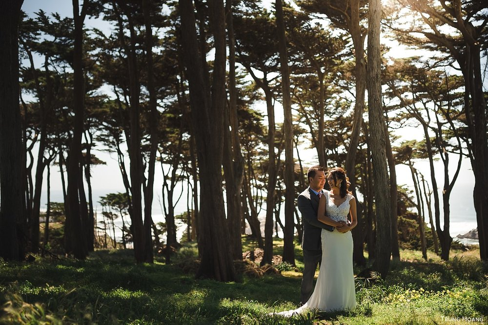 Lands End Wedding Photos