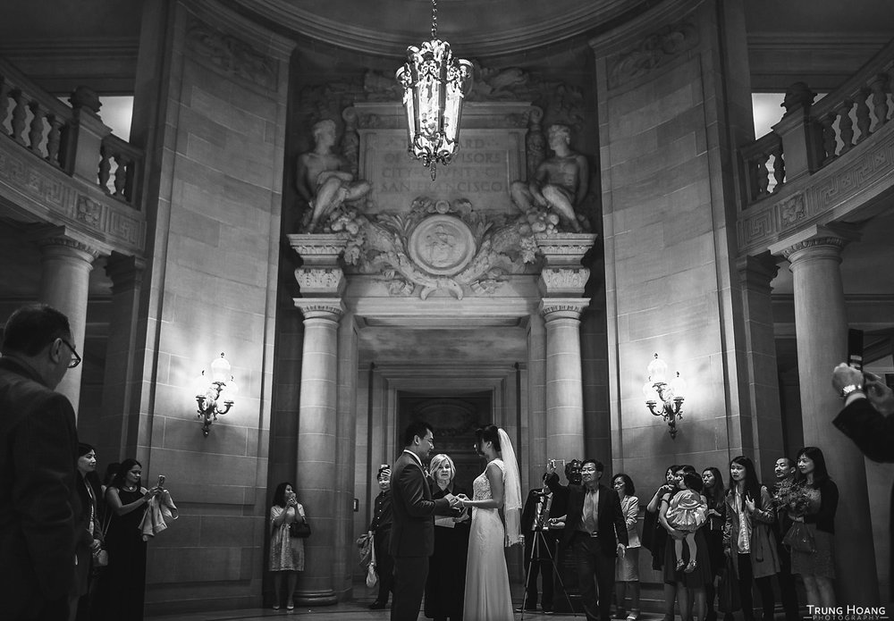 San Francisco City Hall Civil Ceremony