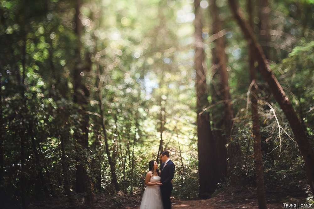 Free lensing Wedding Portrait