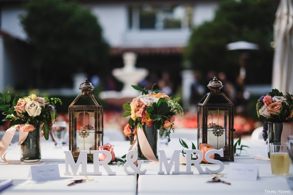 Wedding head table inspiration