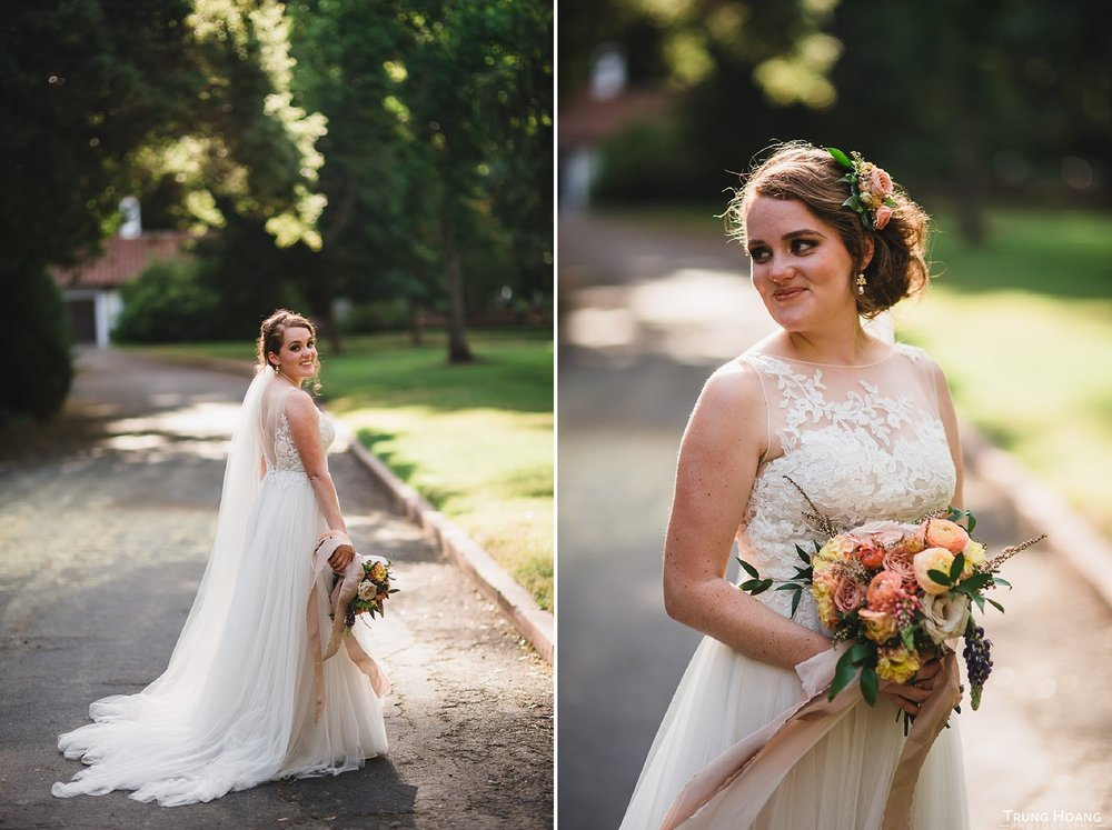 Bride portrait - Northern California wedding photographer