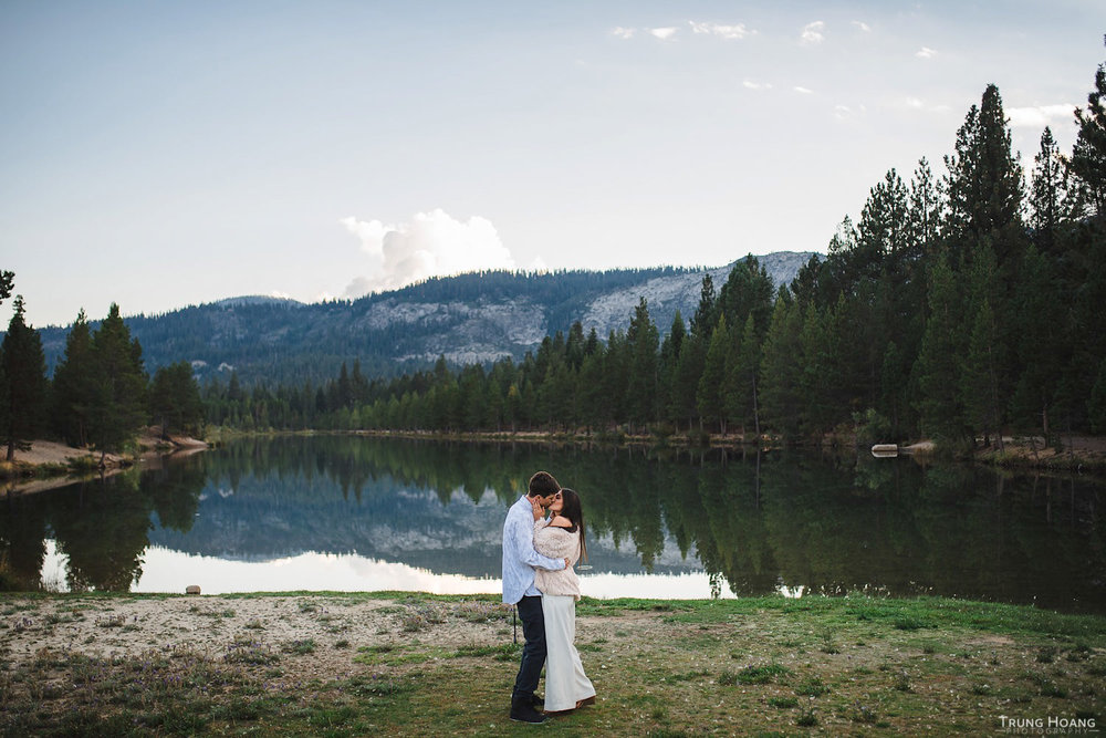 Couples photo at Baron Lake, South Lake Tahoe