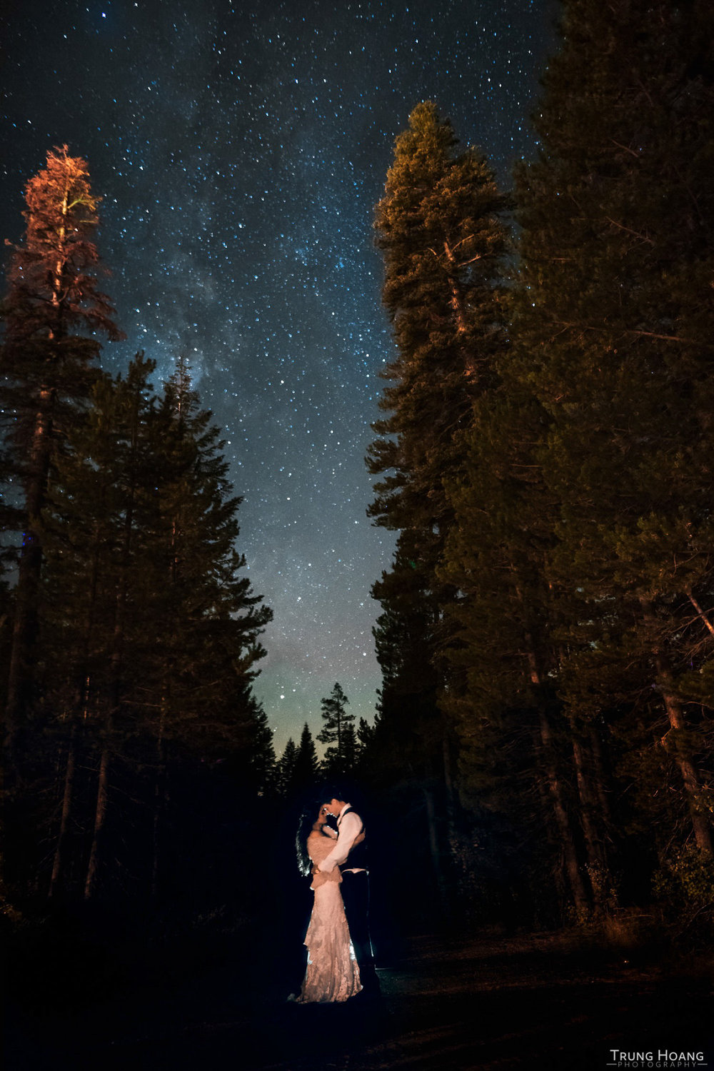 Night Sky Couples Portrait