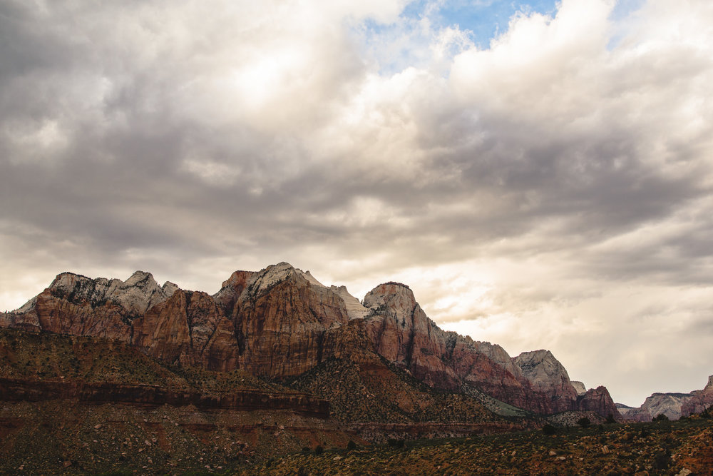 Red Rocks of Zion National Park