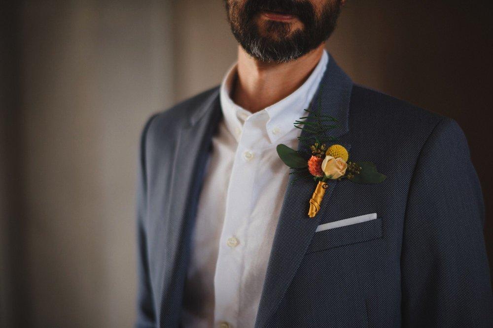 Groom City Hall Wedding Attire