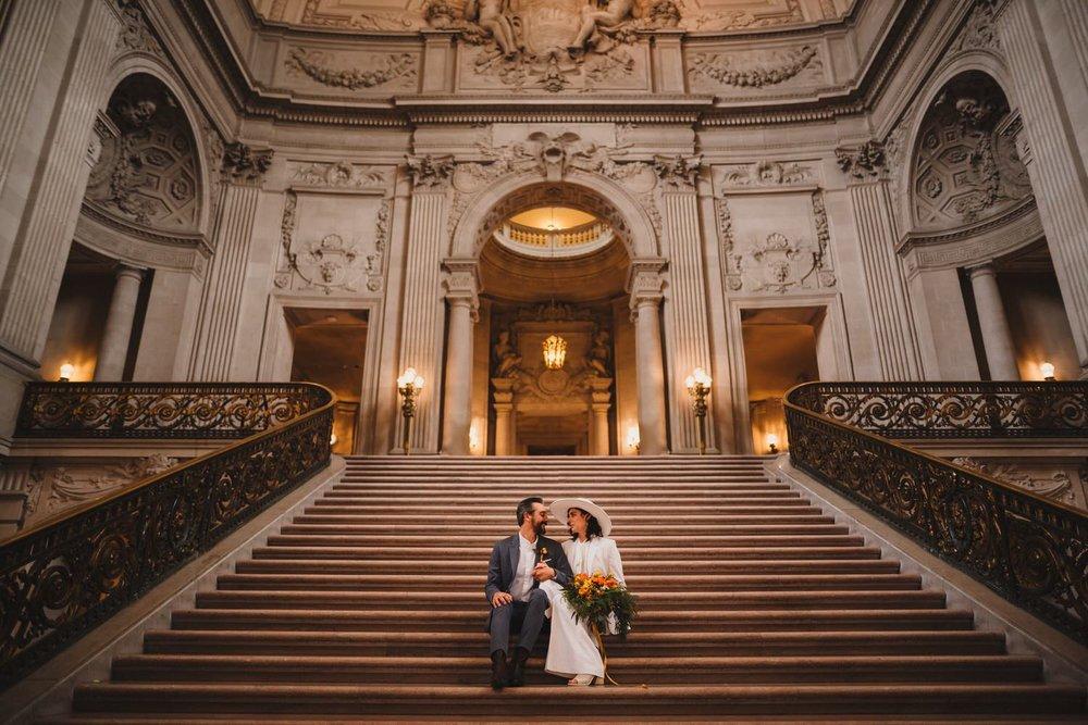 Great San Francisco City Hall Wedding Photographer