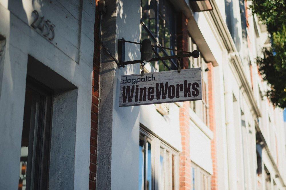 Dogpatch Wineworks Wedding Reception
