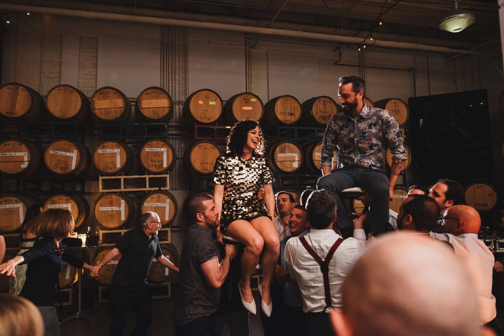 Dogpatch Wineworks Wedding