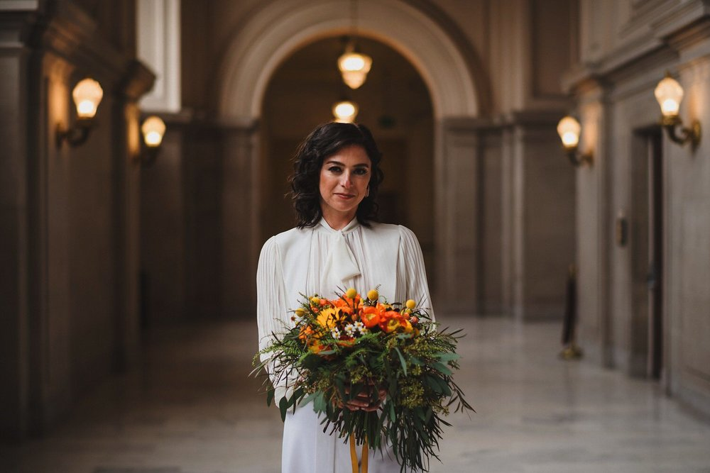 San Francisco City Hall Bouquet