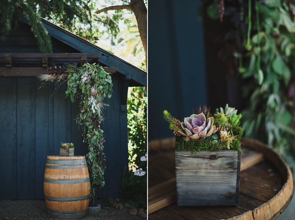 Succulent Wedding Florals