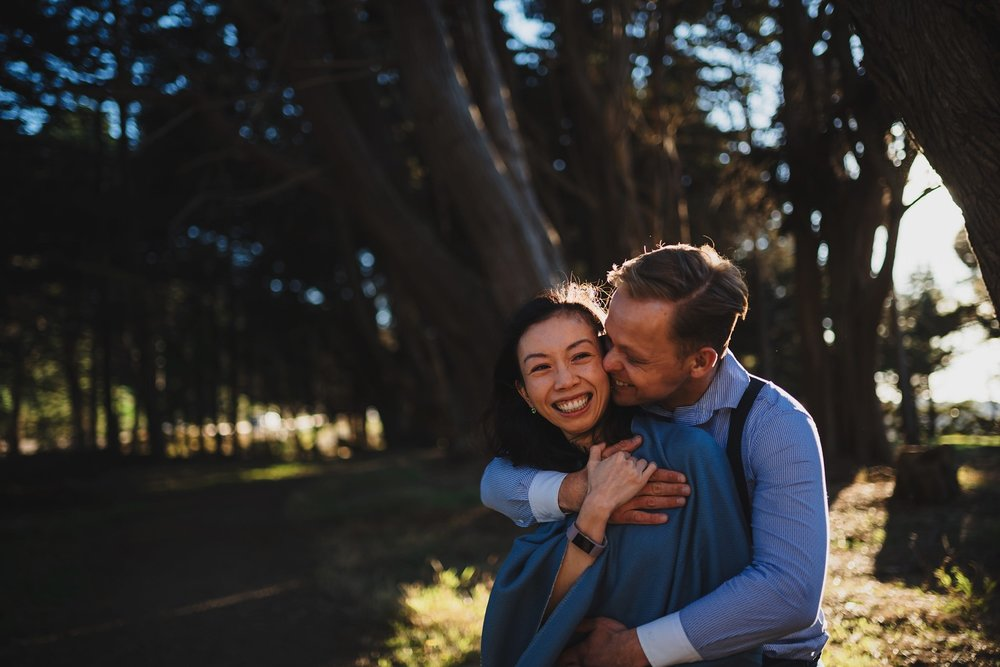 Cute Bay Area Engagement Shoot