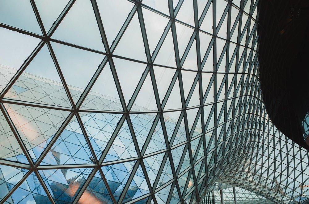 MyZeil Mall // Frankfurt Travel Photography