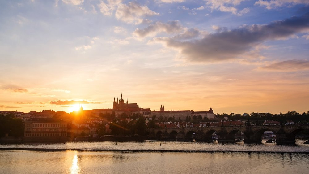 Prague Sunset // Prague Travel Photography