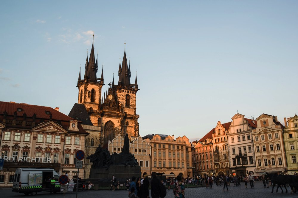 Church of Our Lady before Tyn, Old Town Square // Prague Travel Photography