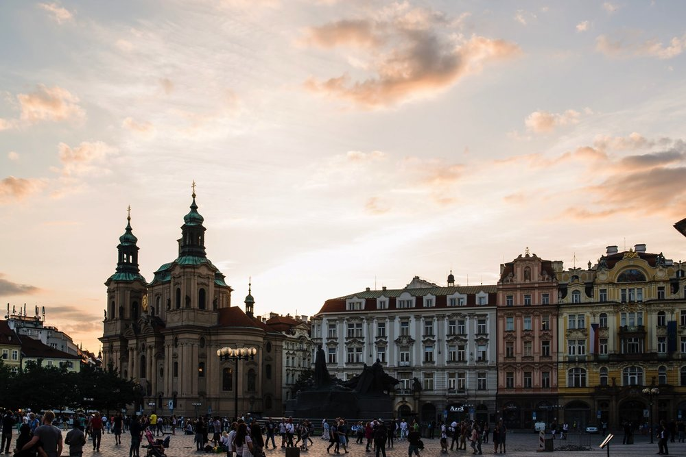 Old Town Square // Prague Travel Photography
