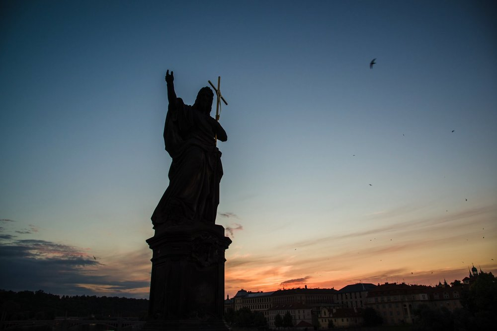 Charles Bridge Statues // Prague Travel Photography