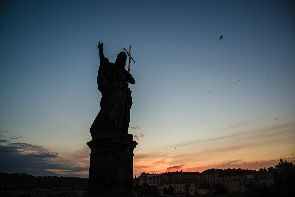 Charles Bridge Statues // Prague Travel Photography