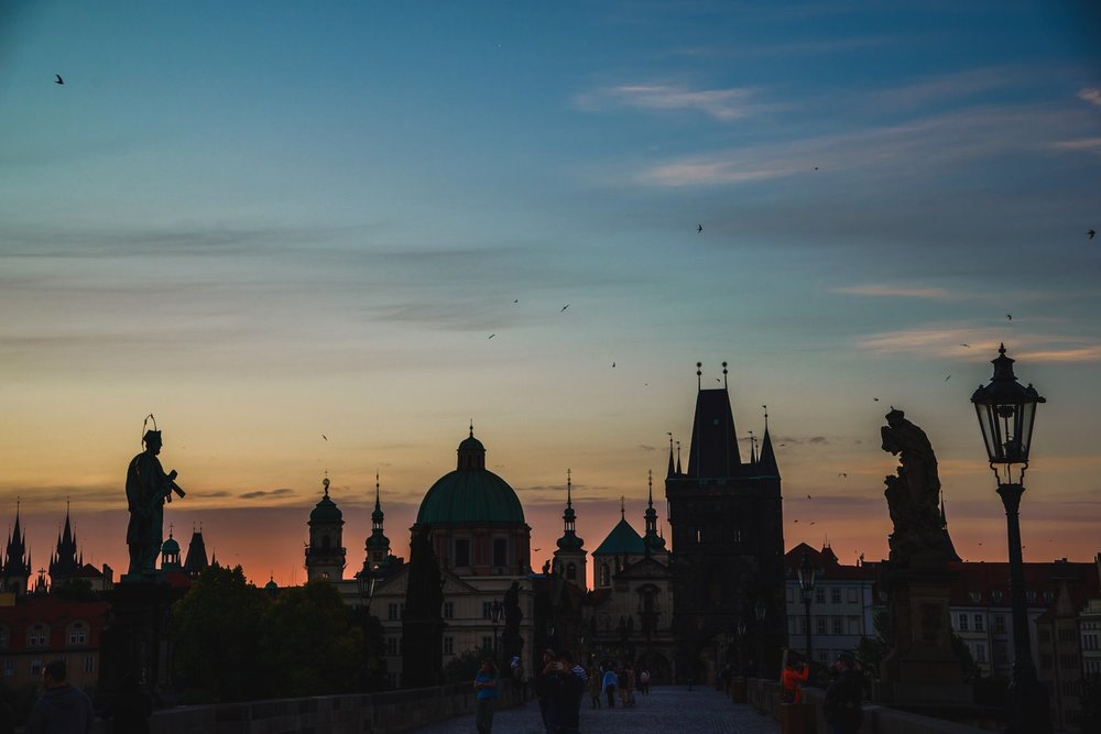 Charles Bridge Sunrise // Prague Travel Photography