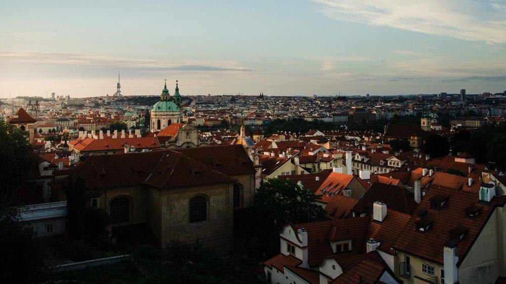 Vyhlídka u Černé věže // Prague Travel Photography
