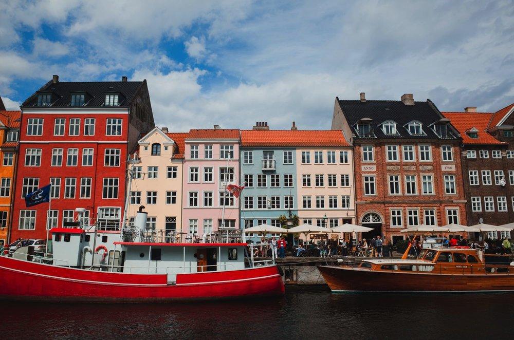 Nyhavn Waterfront // Copenhagen Travel Photography