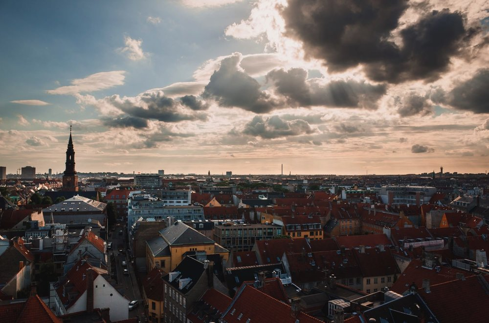 View from The Round Tower (Rundetaarn) // Copenhagen Travel Photography