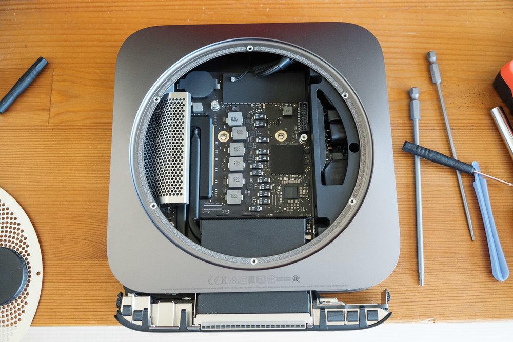 Disassembling a 2018 Mac Mini