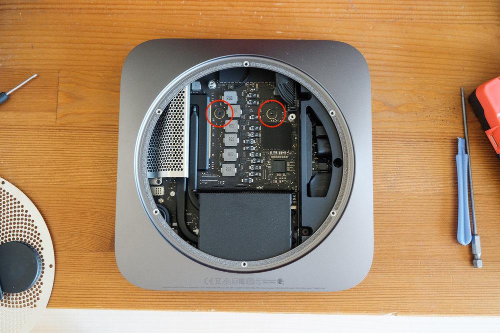 Removing the Logic Board of a 2018 Mac Mini