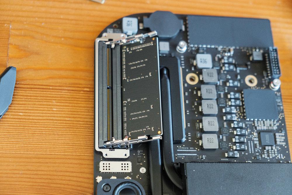User-replaceable RAM 2018 Mac Mini