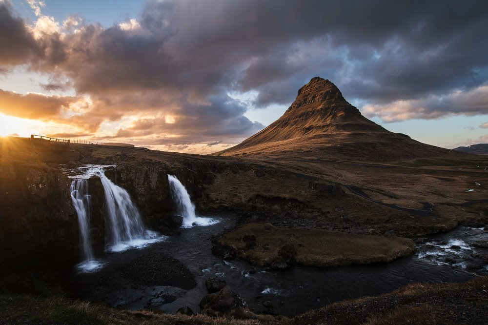 Kirkjufellsfoss Sunset - Iceland Blog Part II