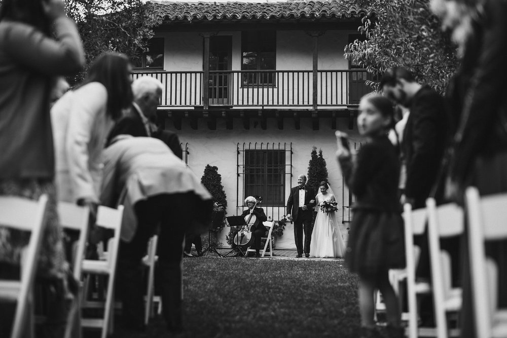 Wedding Processional - Allied Arts Guild Wedding