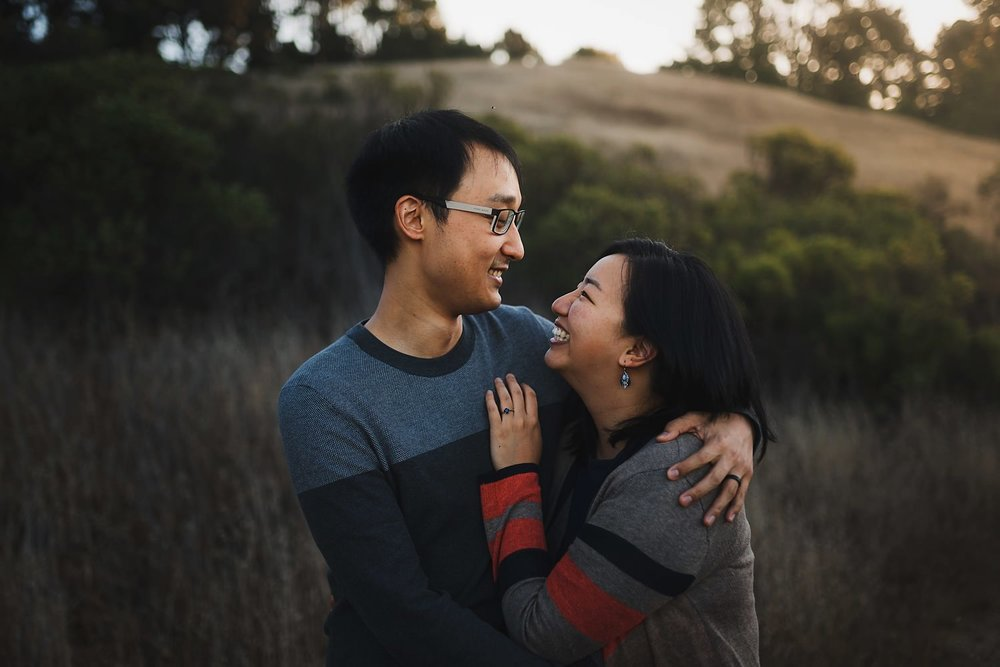 Bay Area Sunrise Engagement Photos