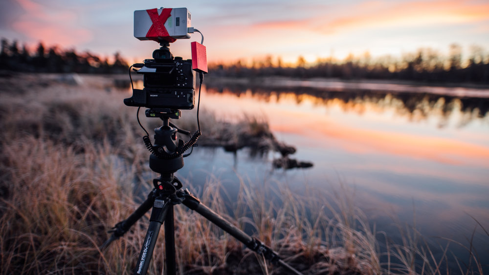 Capturing the sunrise with the Sony A7rii and Syrp Genie Mini.